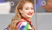 Gigi Hadid's wine bottle accessory
