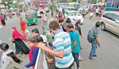 Pedestrians reluctant to use footbridges