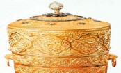 India thieves 'ate from stolen royal gold lunchbox'