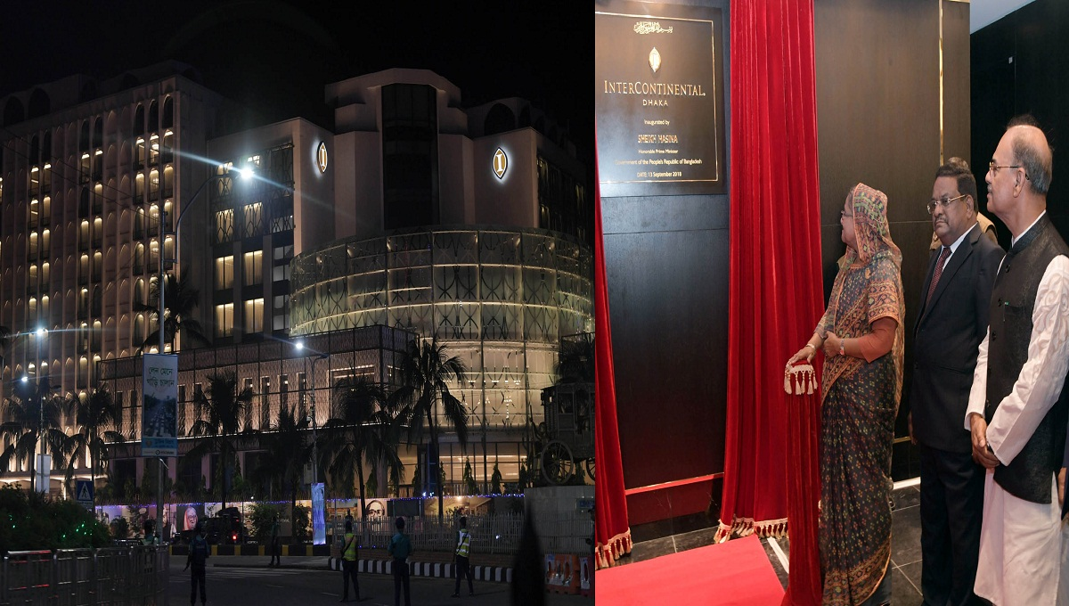 Prime Minister opens hotel InterContinental Dhaka