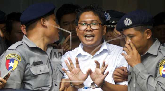 Myanmar must release Reuters journalists: MEPs