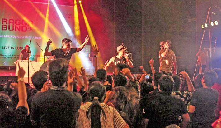 Raggabund rocks audience at BSA