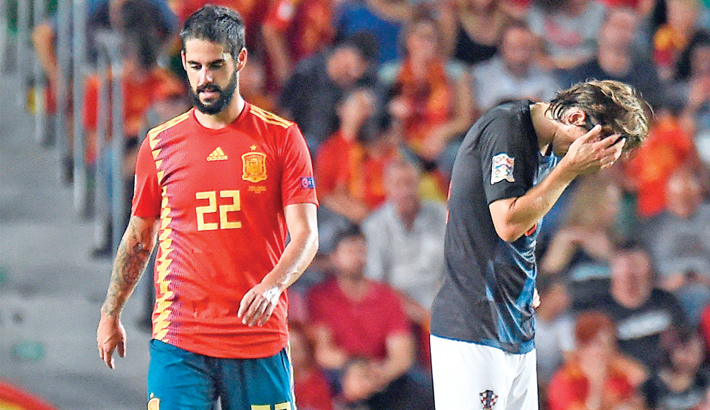 Spain thrash WC finalists Croatia
