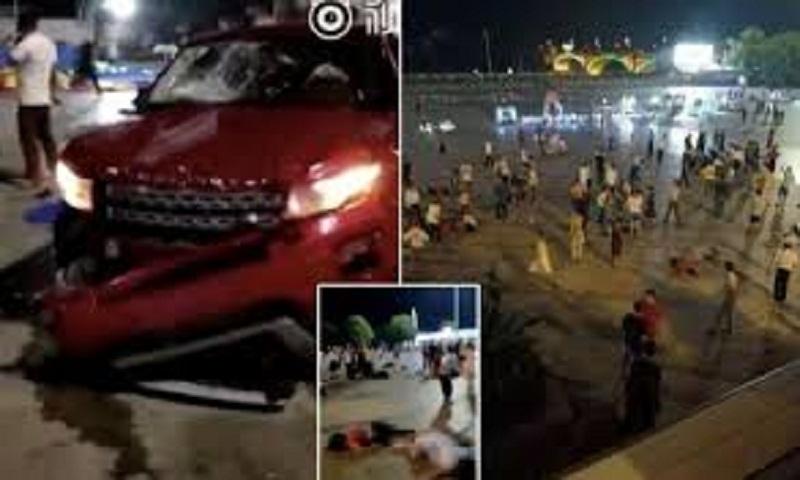 China: Car rams into Hunan square killing nine