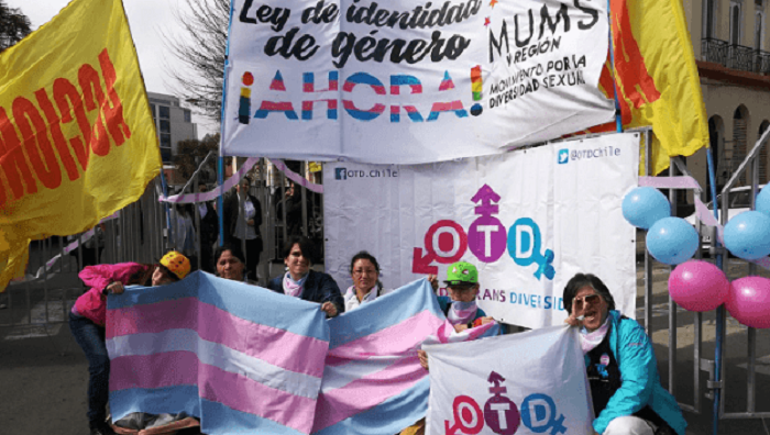 Teens over 14 can change their legal sex in Chile