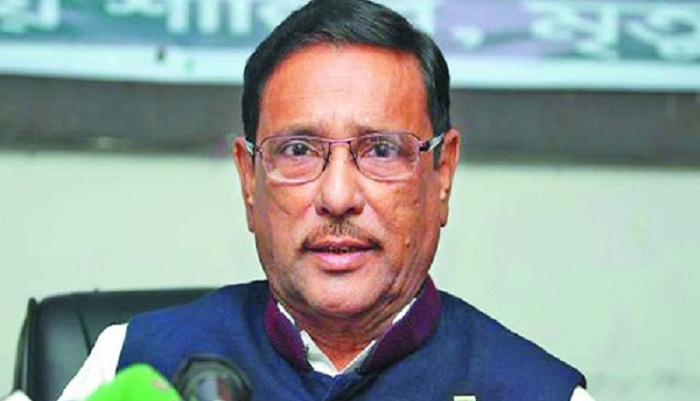 Road Transport Act to be placed in parliament on Sunday: Quader