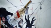 Champagne in space: Zero-G bottle lets tourists drink bubbly