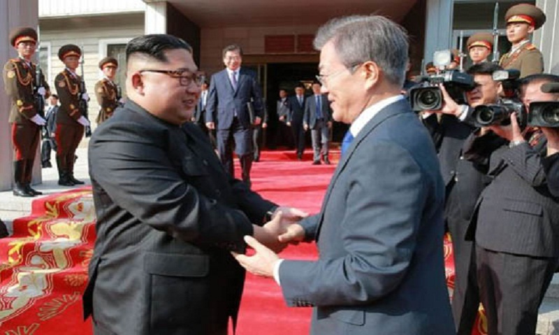 Two Koreas open joint liaison office in North: Pool report ...