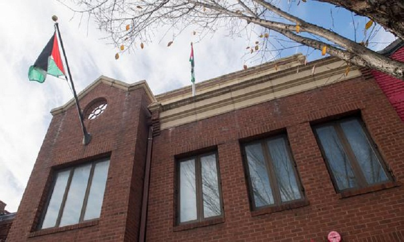 Palestinian mission shuttered in Washington