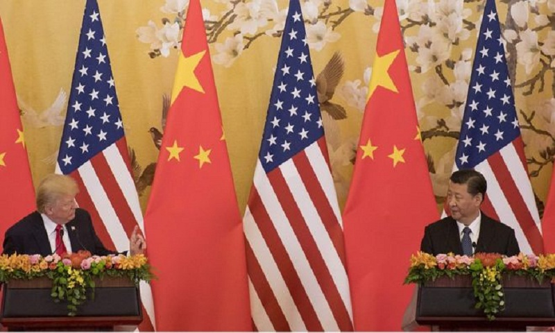 Trump says US under 'no pressure' for China trade deal