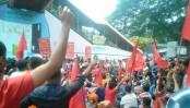 RMG workers reject Tk 8,000 as minimum wage, stage demo