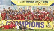 Maldives crowned SAFF title stunning India