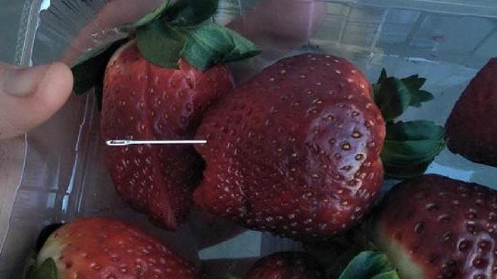 Australia Strawberry needle scare widens