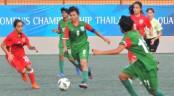 AFC U-16 Women's: Bangladesh makes flying start crushing Bahrain 10-0