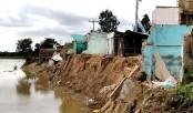 Padma erosion renders 60 more families homeless
