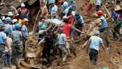 Dozens buried by Typhoon landslide in Philippine