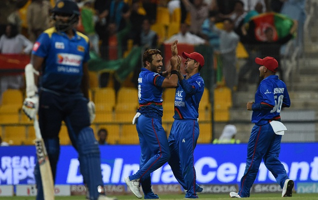 Afghanistan throw Sri Lanka out of Asia Cup