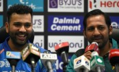 Sarfraz, Rohit promise blockbuster India-Pakistan clash