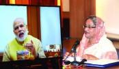 Sheikh Hasina, Modi open Bangladesh-India oil pipeline