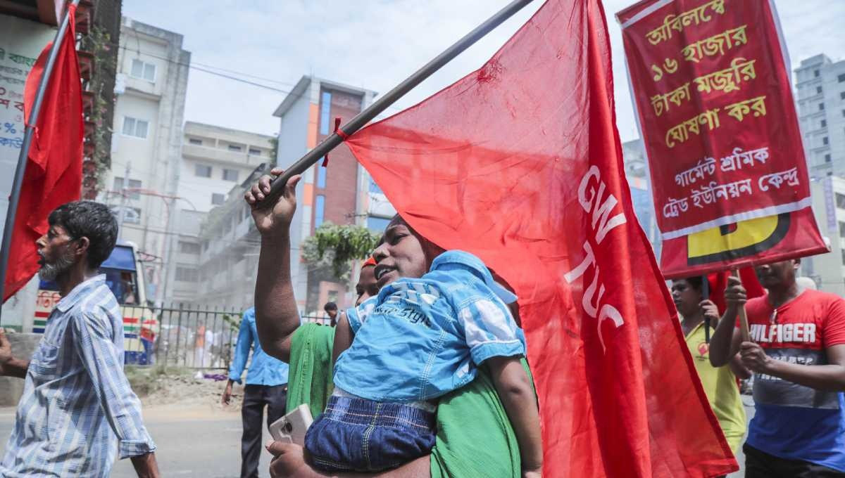RMG workers to stage demo on September 21 for revision of minimum wage