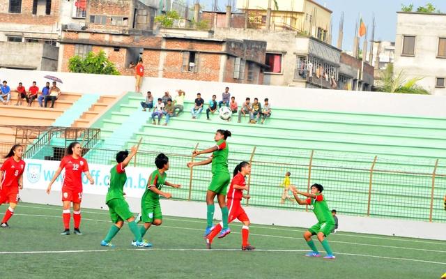 AFC U-16 Women's Championship: Bangladesh beat Lebanon 8-0