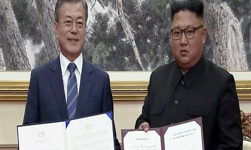 Moon, Kim to visit volcano considered sacred