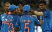 Kumar, Jadhav restrict Pakistan to 162 in Asia Cup