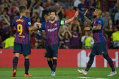 Lionel Messi hits hat-trick as Barcelona trounce PSV Eindhoven