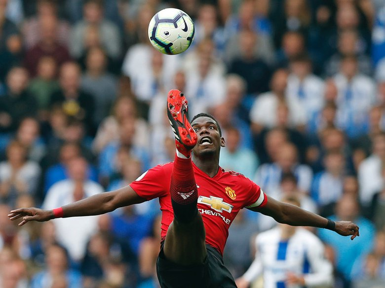 Pogba scores 2 in Man United's 3-0 win at Young Boys