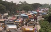 15-km tailback on Dhaka-Chattogram highway