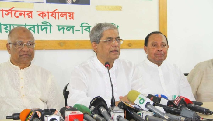 Election being made uncertain with filing 'false' cases: BNP