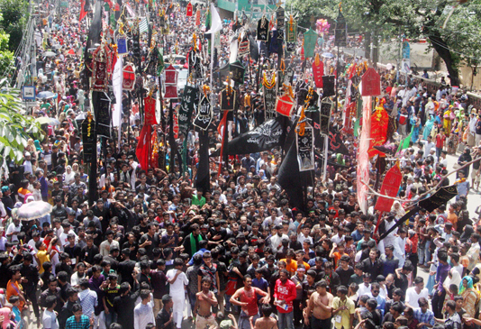 Holy Ashura observed recalling Karbala tragedy