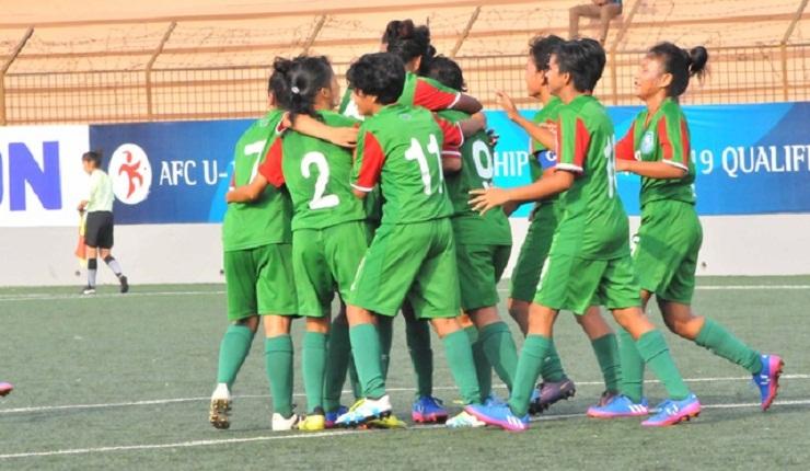 Bangladeshi girls continue their winning streak, beat UAE by 7-0 goals