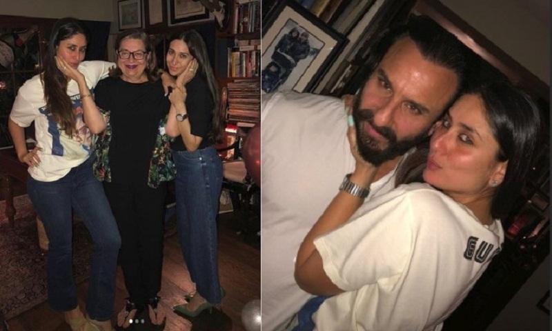 Kareena Kapoor Khan rings in 38th birthday with husband Saif Ali Khan and family