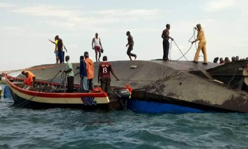 Lake Victoria, Tanzania: 86 drown in ferry capsize