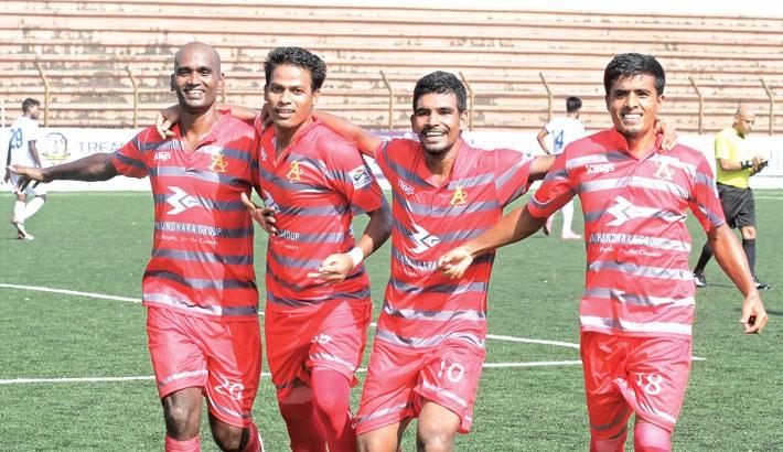 Bashundhara Kings thrash New Radiant