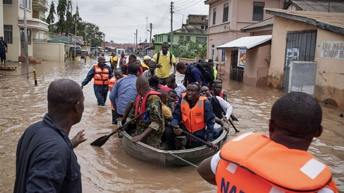 Ghana flooding kills 34 during heavy rains