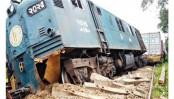 Derailment halts train services on Dhaka-Chattogram, Sylhet-Chattogram routes