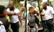 France torn over video of driver slapping boy for 'disrespect'