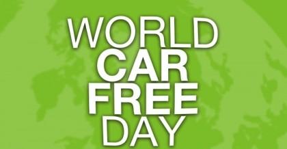 World Car Free Day Saturday