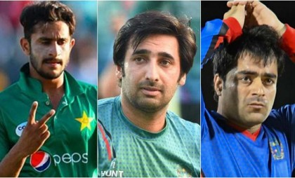 Pakistan's Hasan Ali, Afghanistan's Asghar and Rashid fined for misconduct in Asia Cup match