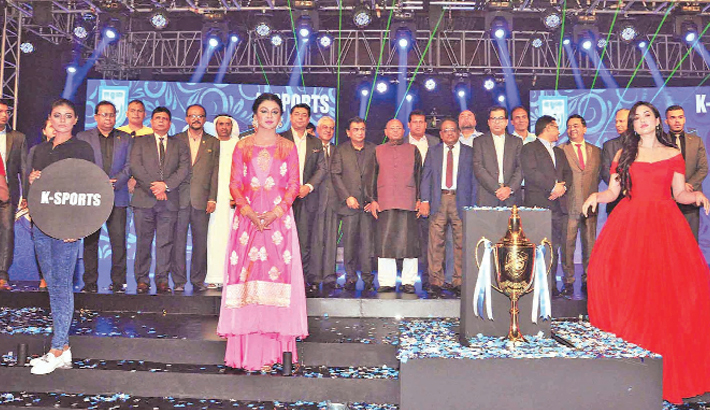 Bangabandhu Gold Cup Trophy ceremonially unveiled