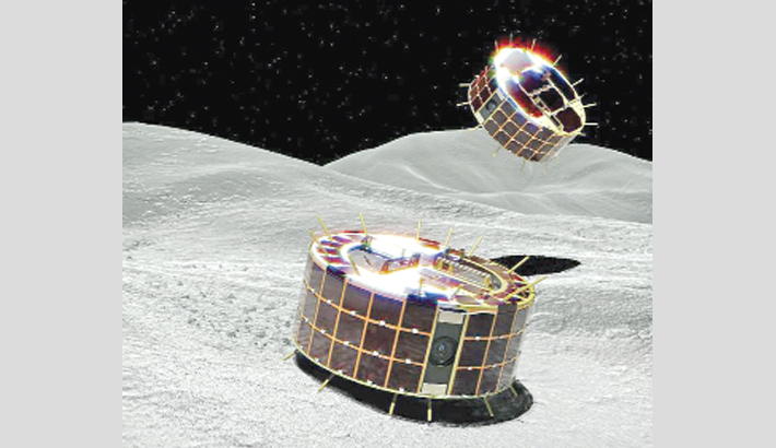 Japan space robots start asteroid survey