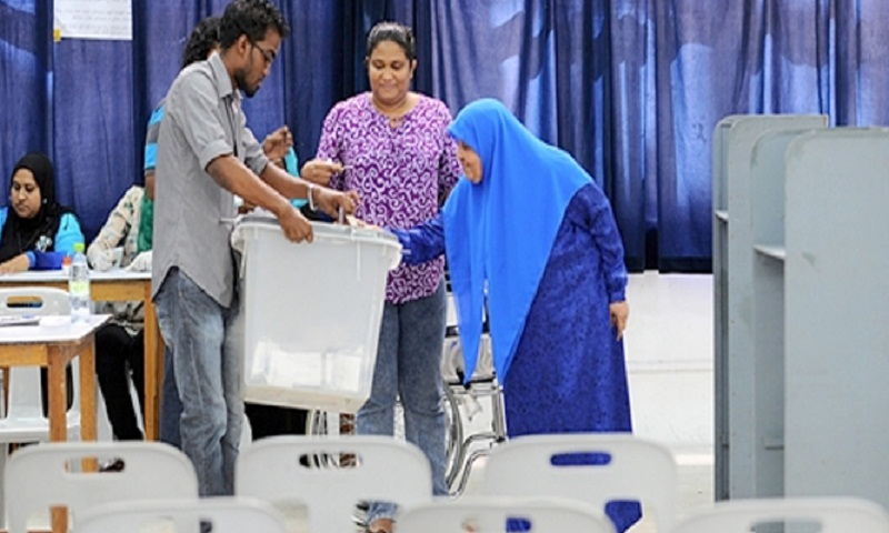 Maldives election: Voting begins in controversial poll