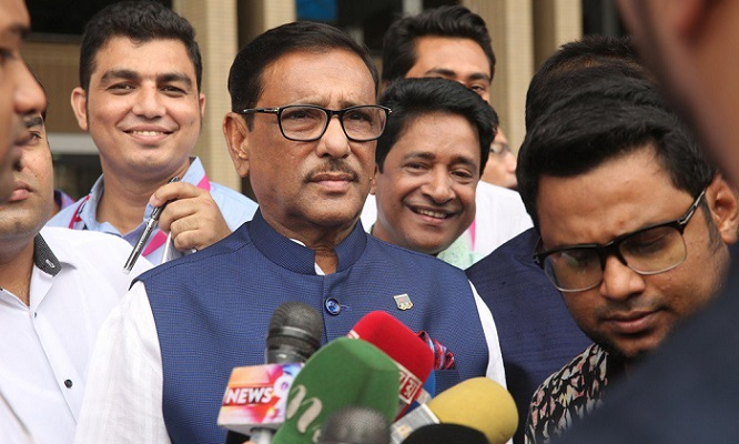 Only acceptable persons will get  AL tickets in next national poll: Quader