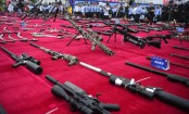 Over 140,000 illegal guns, explosives destroyed in China