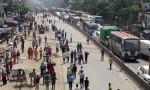 RMG workers block Dhaka-Mymensingh highway demanding due salaries
