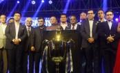 Trophy of Bangabandhu International Gold Cup formally unveiled