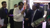 Indian Minister Suresh Prabhu in city