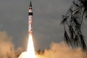 India test-fires interceptor missile